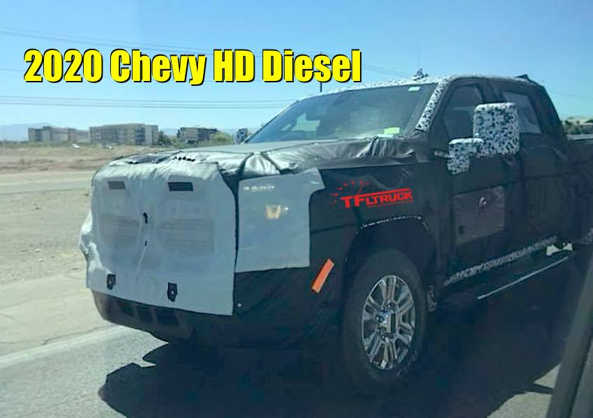 38 The 2020 Chevy 2500Hd Duramax New Review