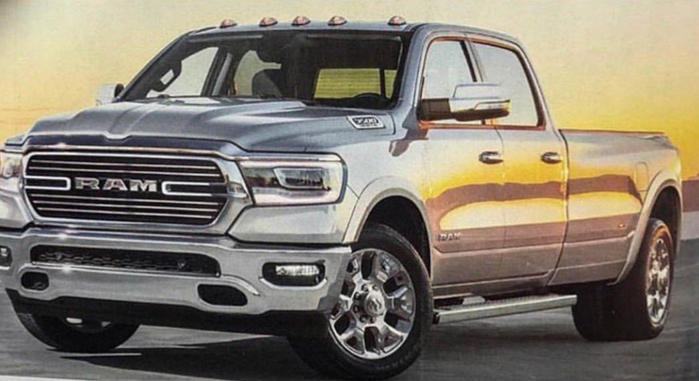 39 All New 2020 Ram 3500 Diesel Redesign and Concept