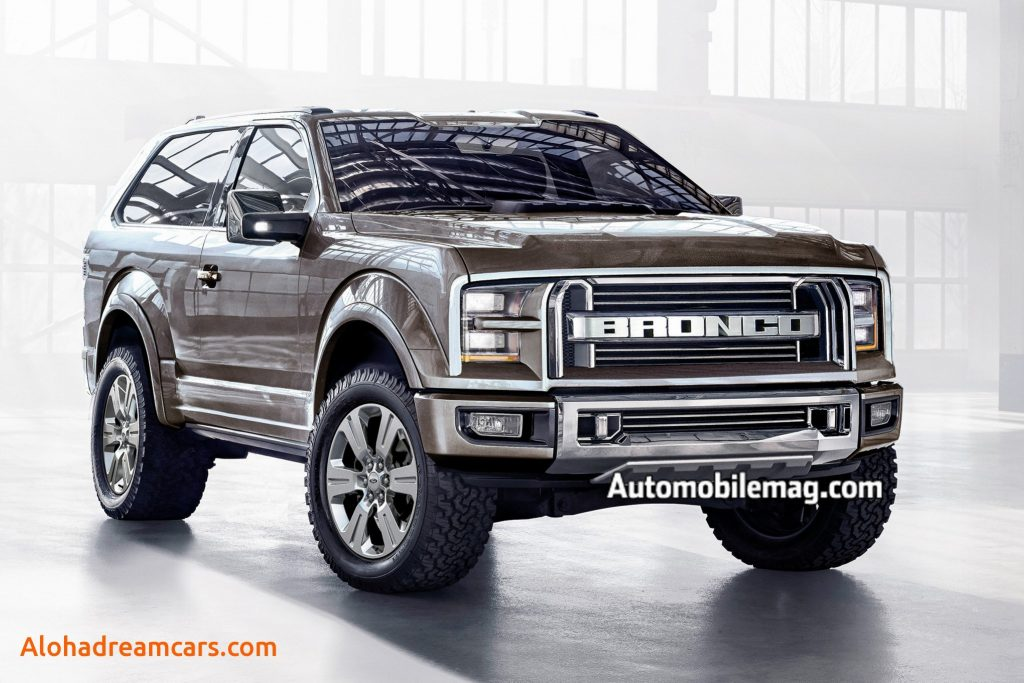 39 The 2019 Ford Svt Bronco Raptor Model