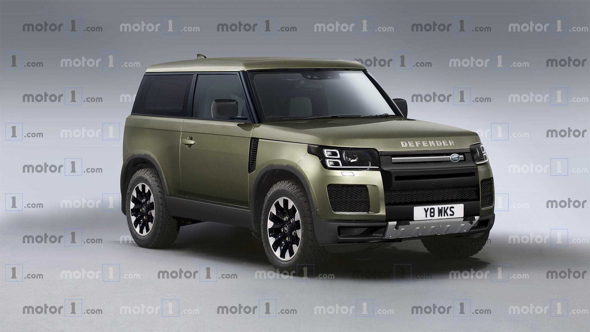 40 All New 2020 Land Rover Defender Exterior