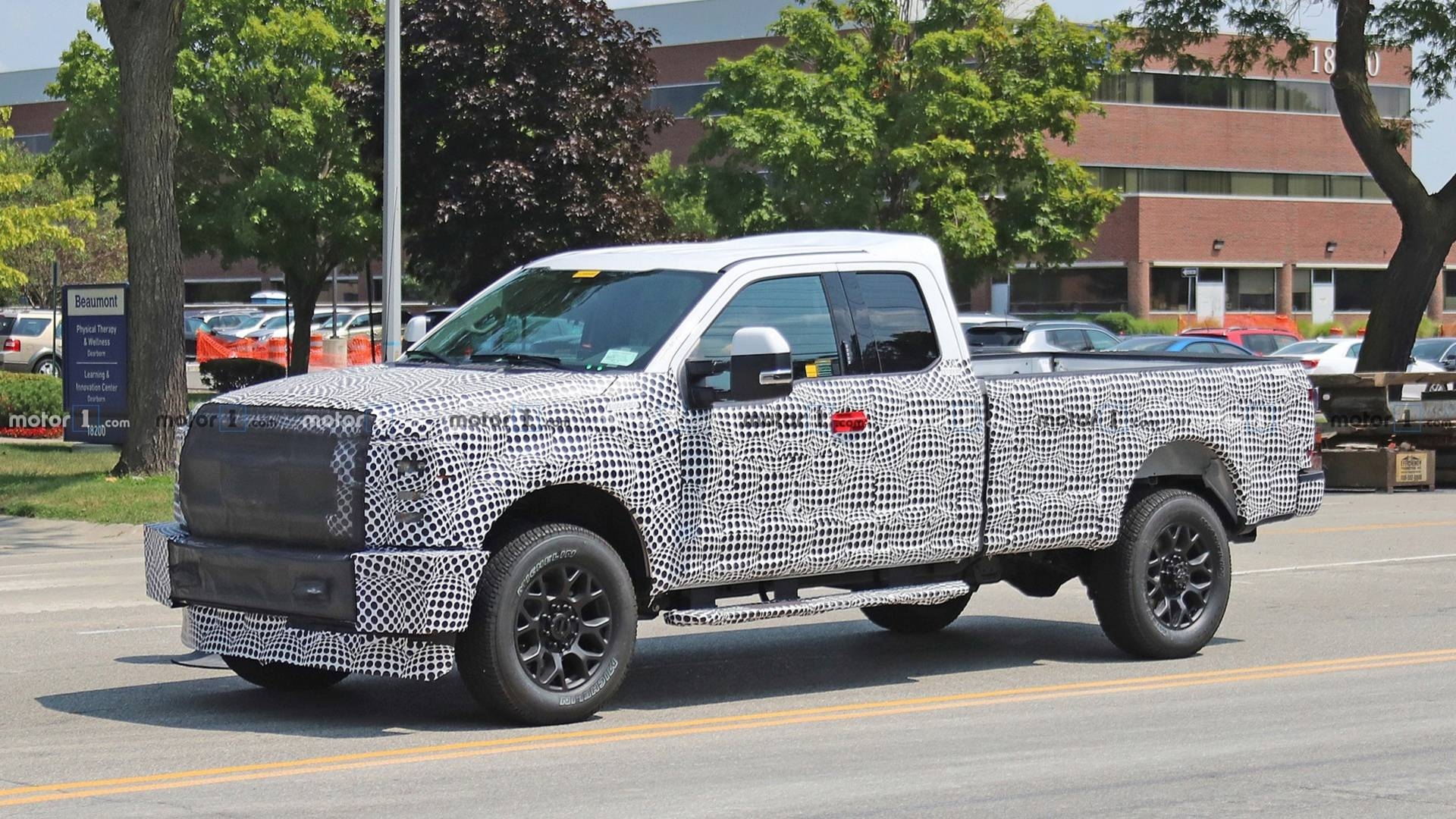 40 All New Spy Shots Ford F350 Diesel Spy Shoot