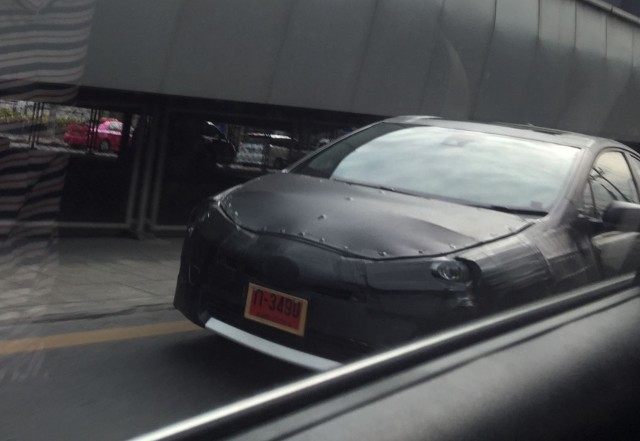 40 All New Spy Shots Toyota Prius Overview
