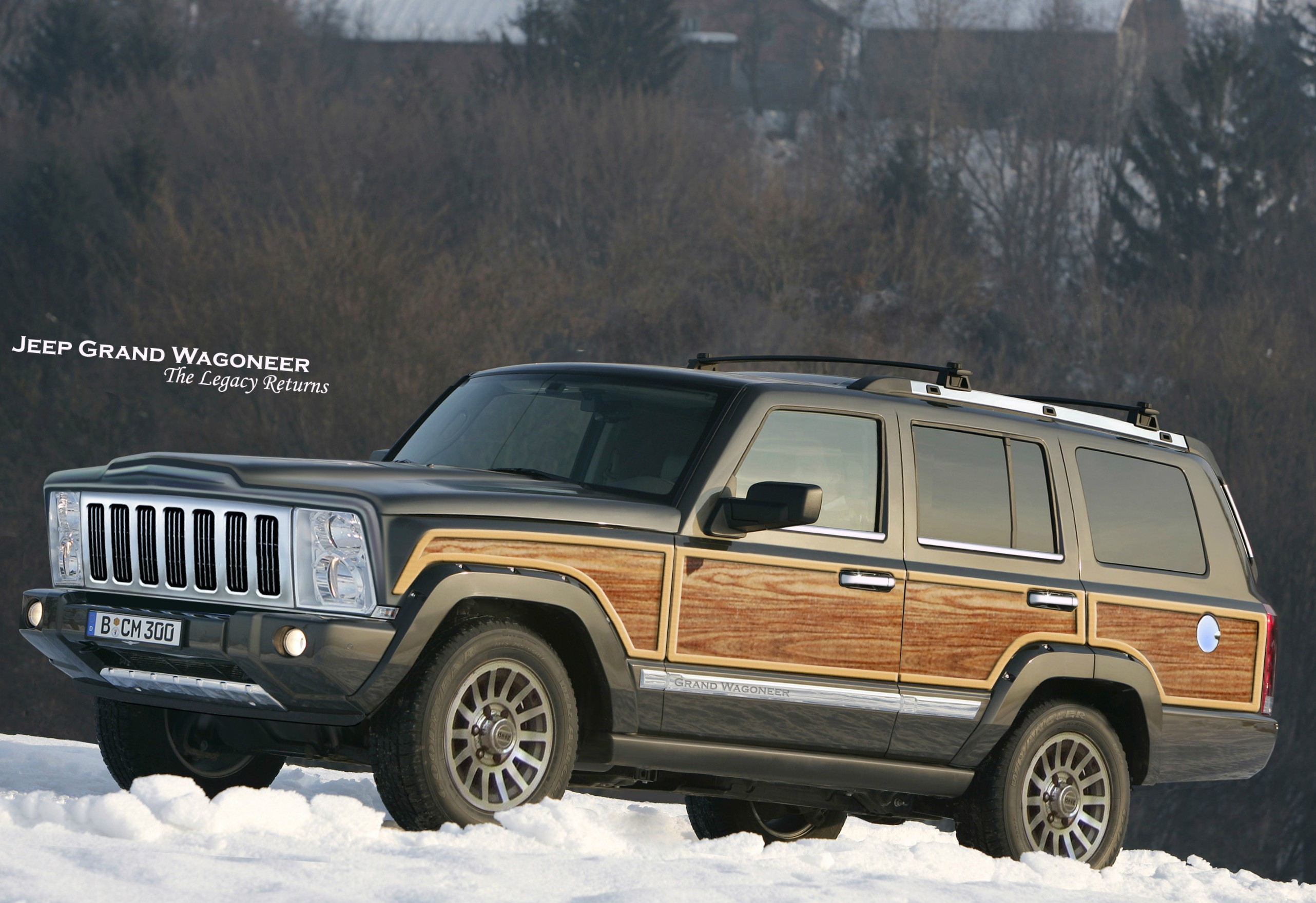 40 Best 2020 Jeep Wagoneer Redesign and Concept