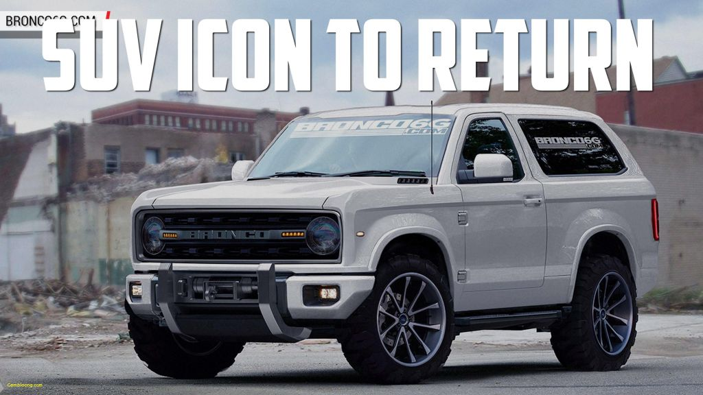 40 The Best 2019 Ford Svt Bronco Raptor Redesign and Review