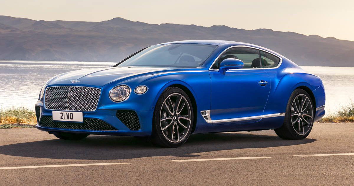 41 A 2020 Bentley Continental GT Review