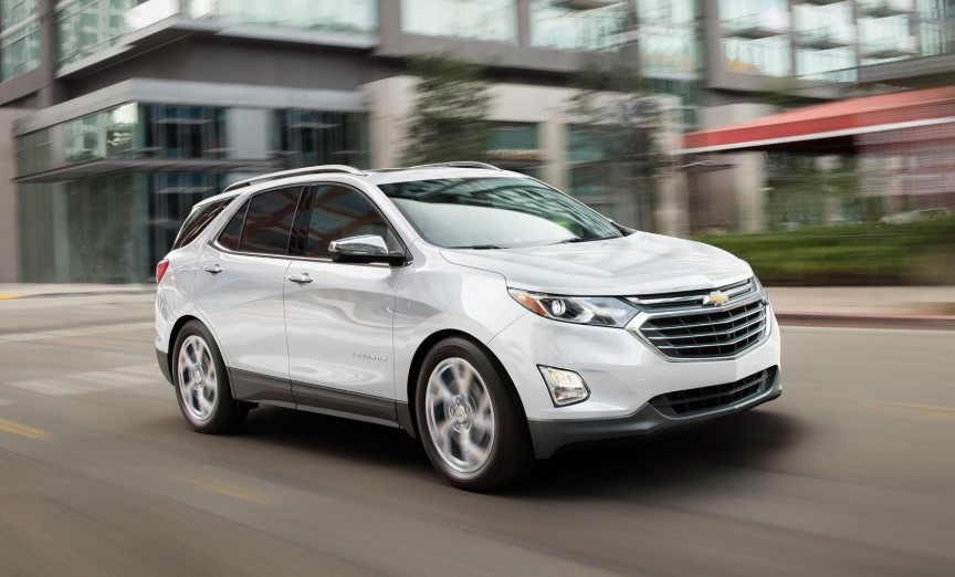41 A 2020 Chevrolet Equinox Exterior and Interior