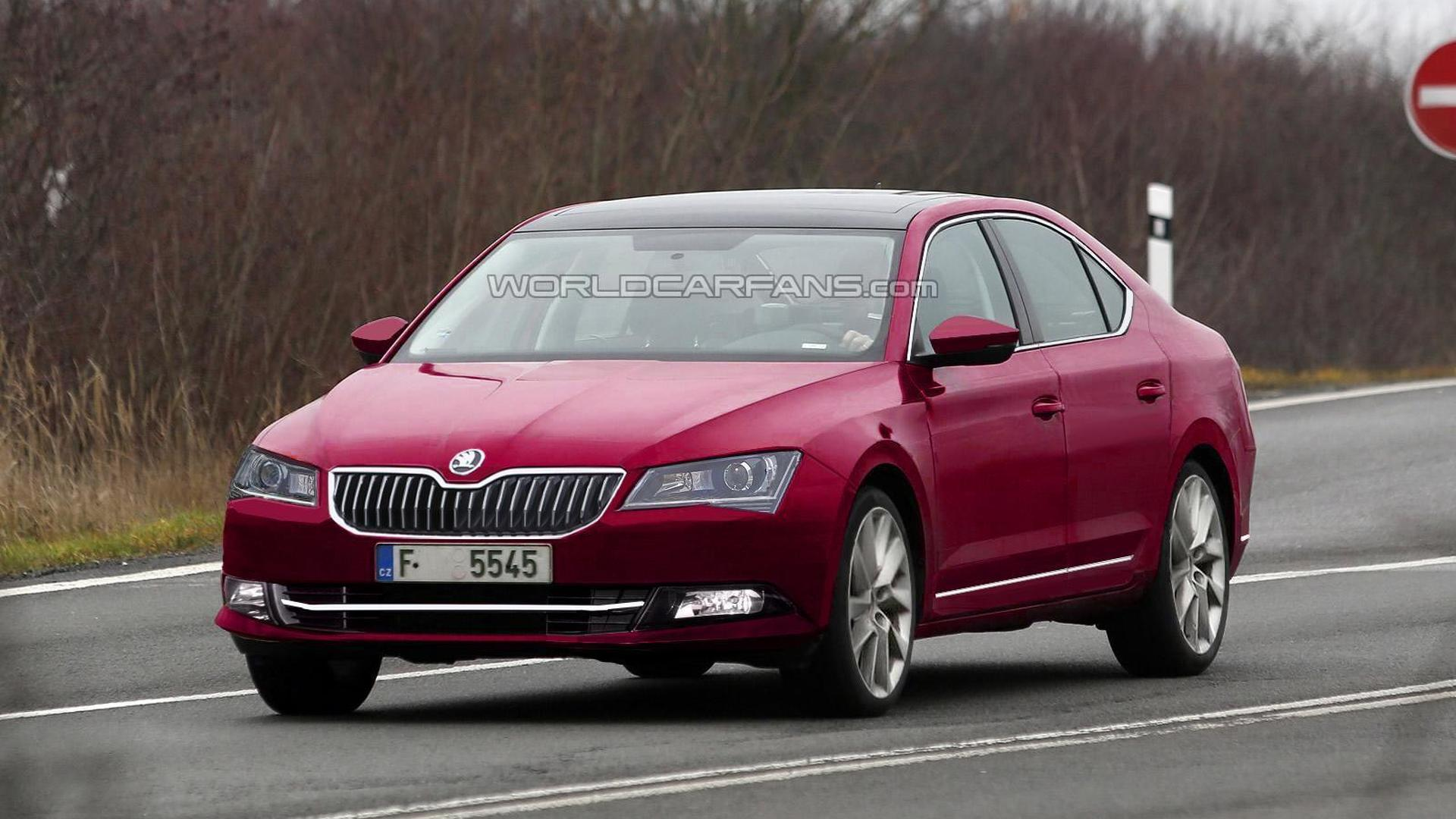 41 A Spy Shots Skoda Superb Prices