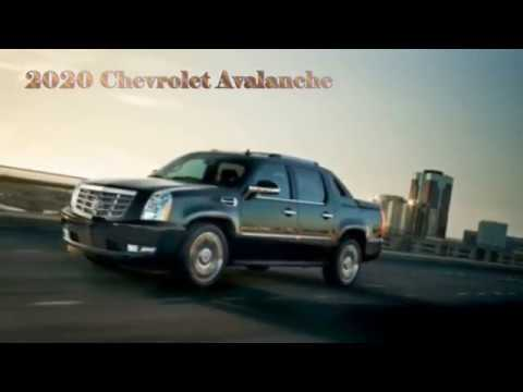 41 All New 2020 Chevy Avalanche Interior