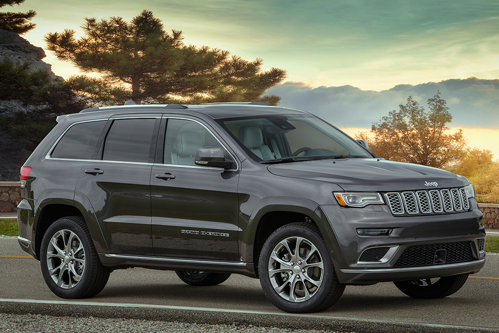 41 All New Jeep Grand Cherokee Spy Shoot