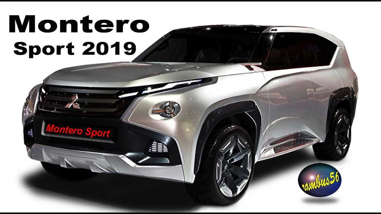 41 The Best 2019 Mitsubishi Montero Sport New Concept