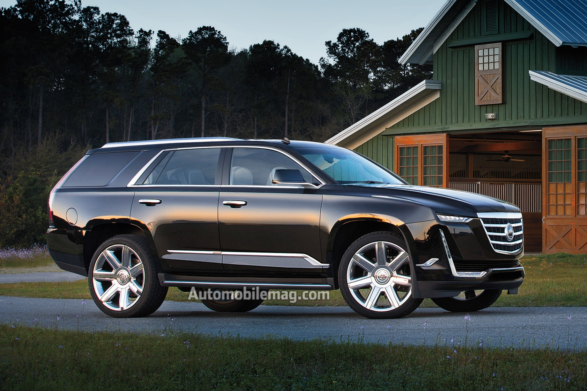 42 A 2020 Cadillac Escalade Performance and New Engine