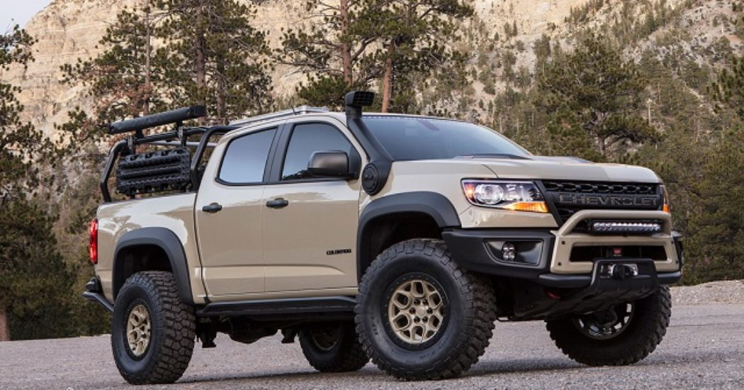 42 The 2019 Chevrolet Colorado Z72 Pictures