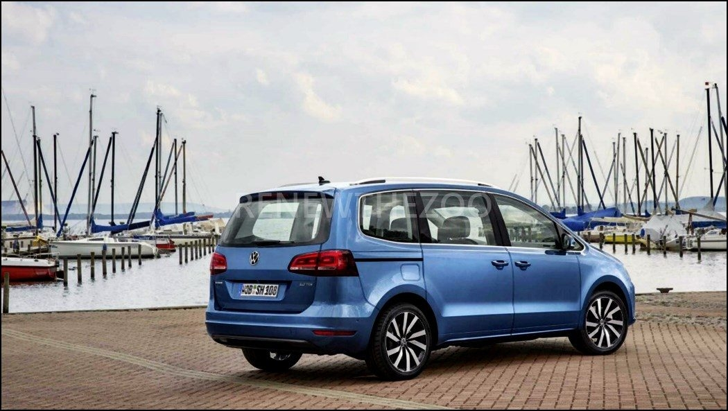 42 The 2020 Volkswagen Sharan New Concept