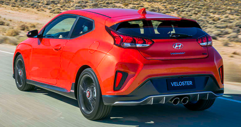 43 A 2020 Hyundai Veloster Turbo Spy Shoot