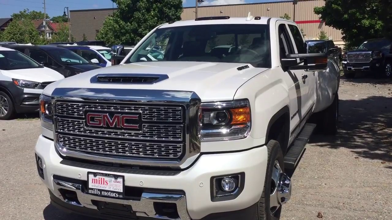 43 The 2019 GMC Denali 3500Hd Specs and Review