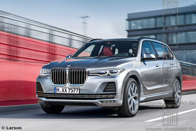44 A 2019 BMW X7 Suv Exterior and Interior