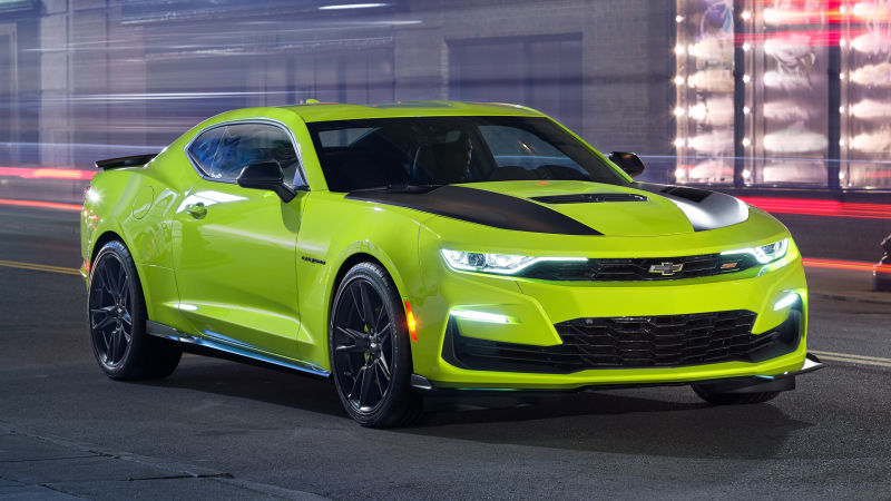 44 A 2019 Chevy Camaro Wallpaper