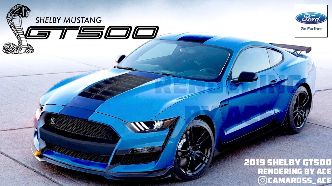 44 The Best 2019 Ford Mustang Shelby Gt500 Style