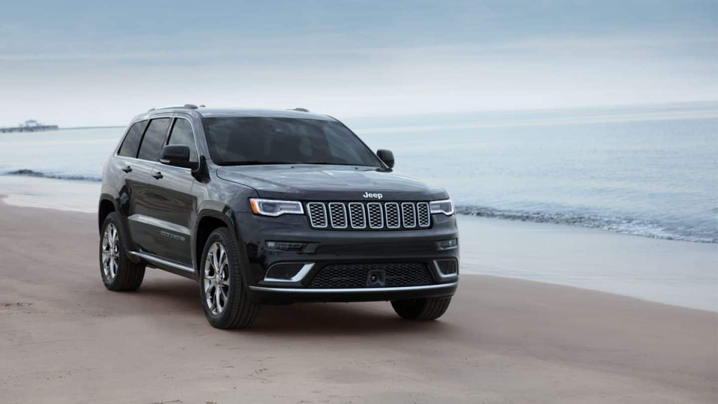 44 The Jeep Grand Cherokee Exterior and Interior