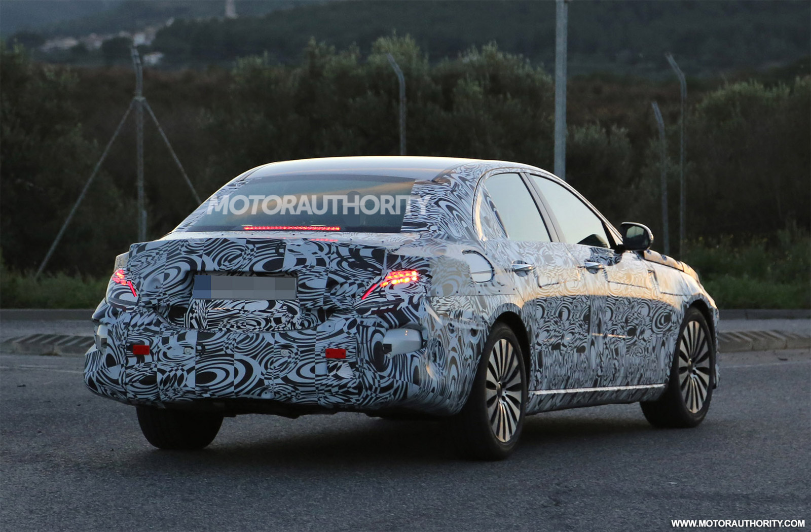 45 All New Spy Shots Mercedes E Class Model