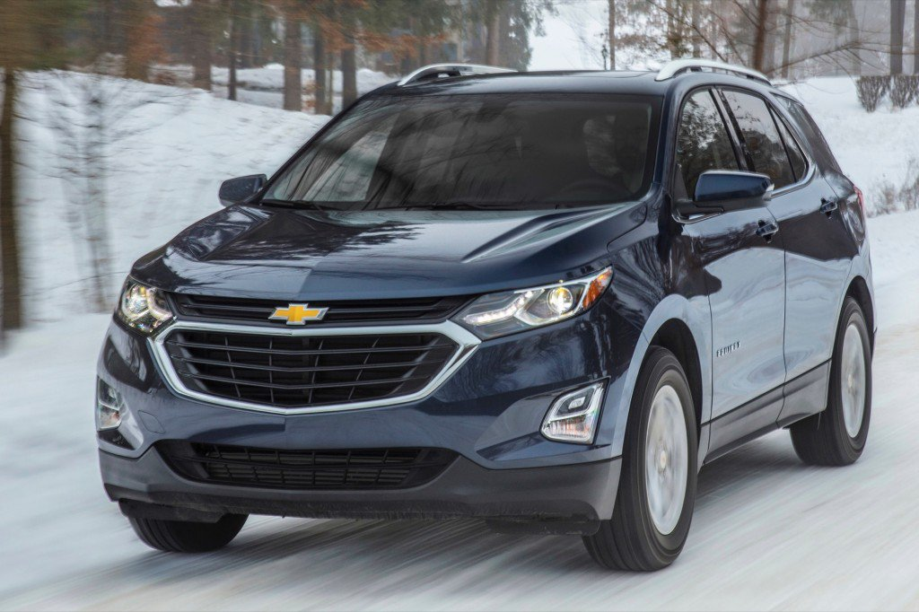 45 The 2020 Chevy Equinox Spy Shoot