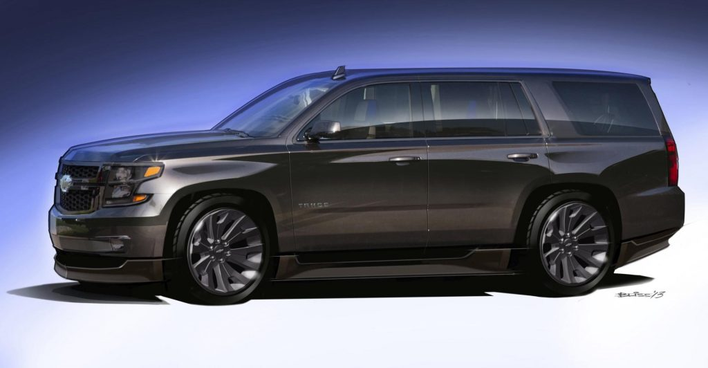 46 A 2020 Chevy Tahoe Photos
