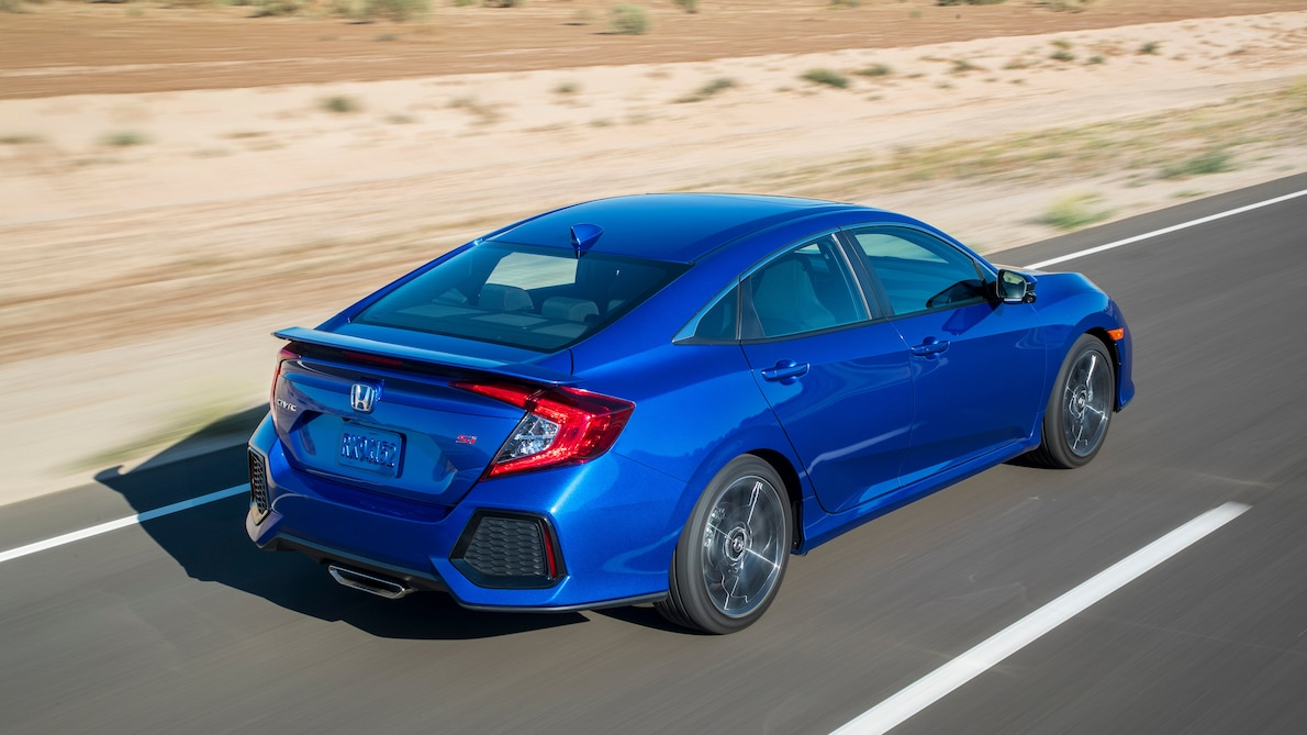 46 All New 2019 Honda Civic Si Sedan Performance and New Engine
