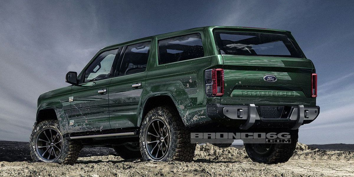 complete car info for 46 all new 2020 ford svt bronco