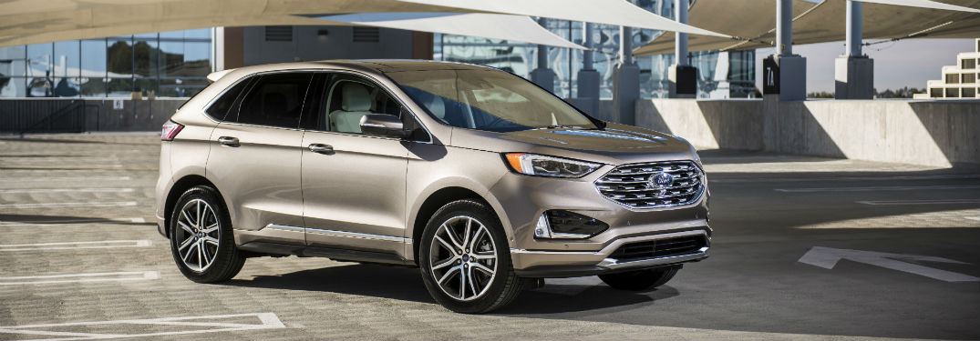 46 The 2019 Ford Edge New Design New Model and Performance
