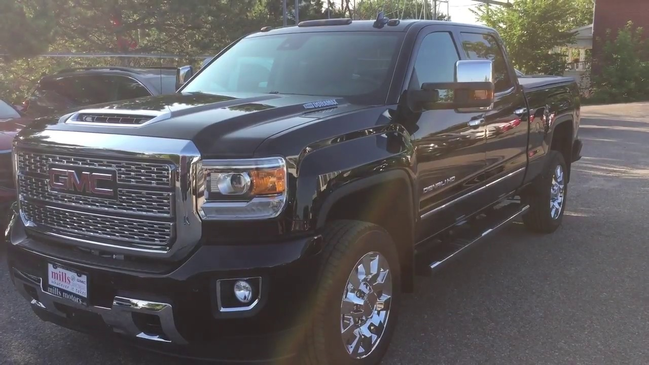46 The 2019 GMC Sierra Hd Style