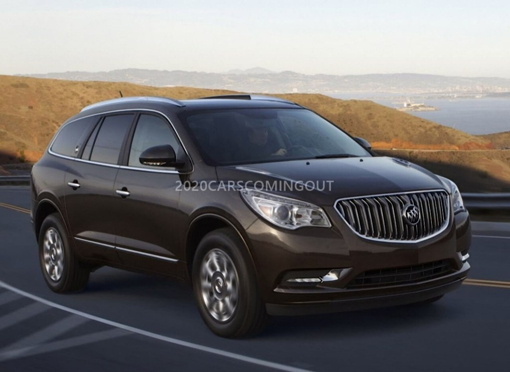 46 The 2020 Buick Enclave Spy Photos Concept