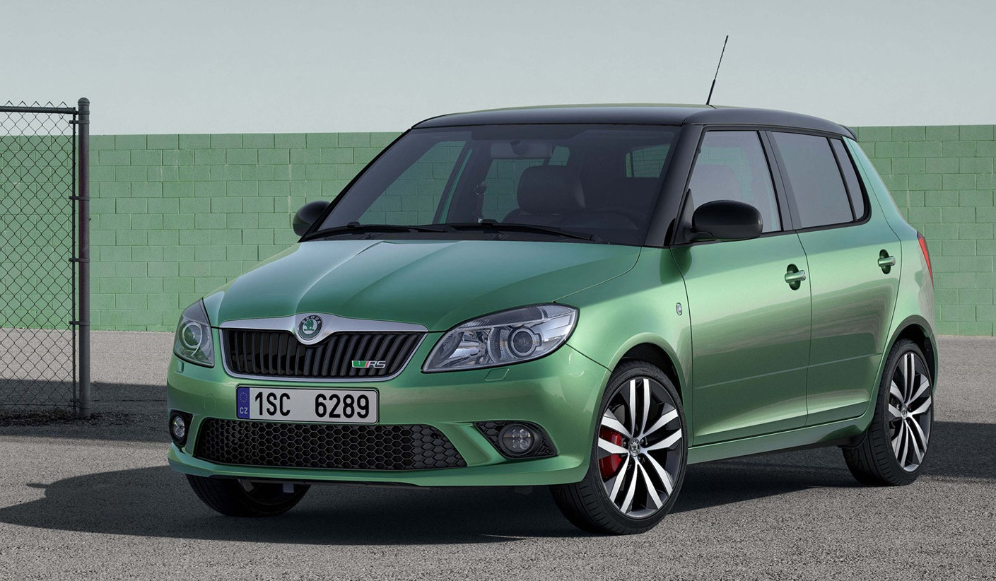 46 The 2020 Skoda Fabia Speed Test