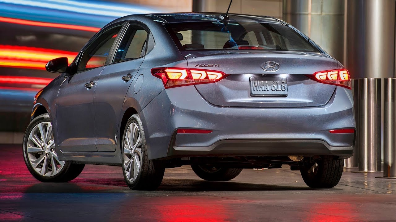 47 A 2019 Hyundai Accent Hatchback Engine