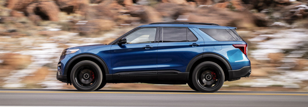 47 A 2020 Ford Explorer Overview