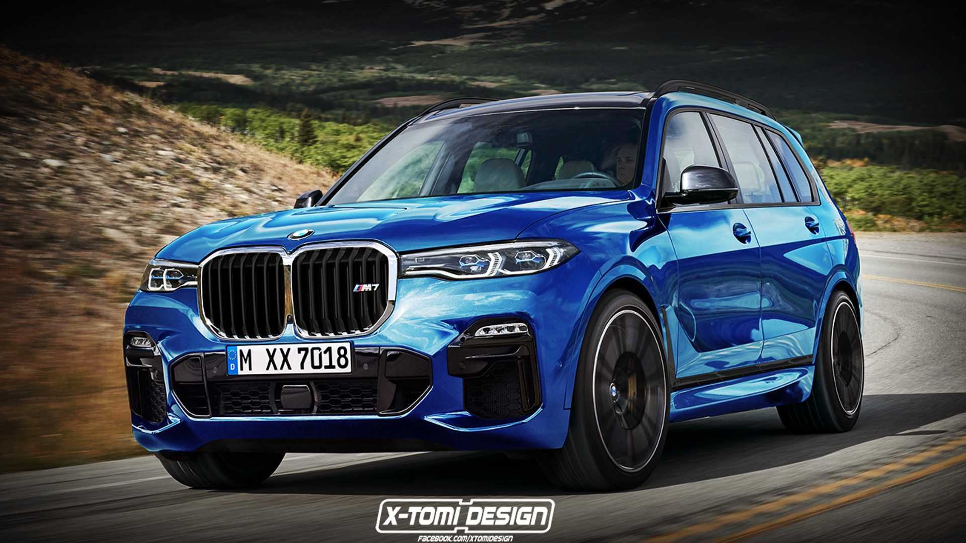 47 All New 2020 BMW X7 Suv Series Concept