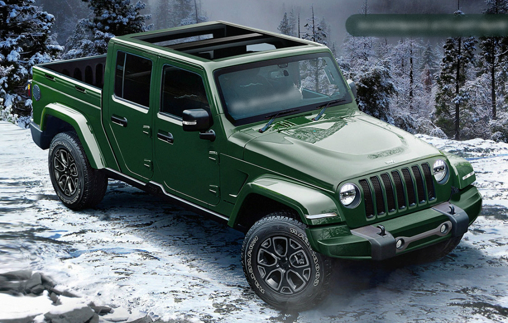 47 All New 2020 Jeep Comanche Picture