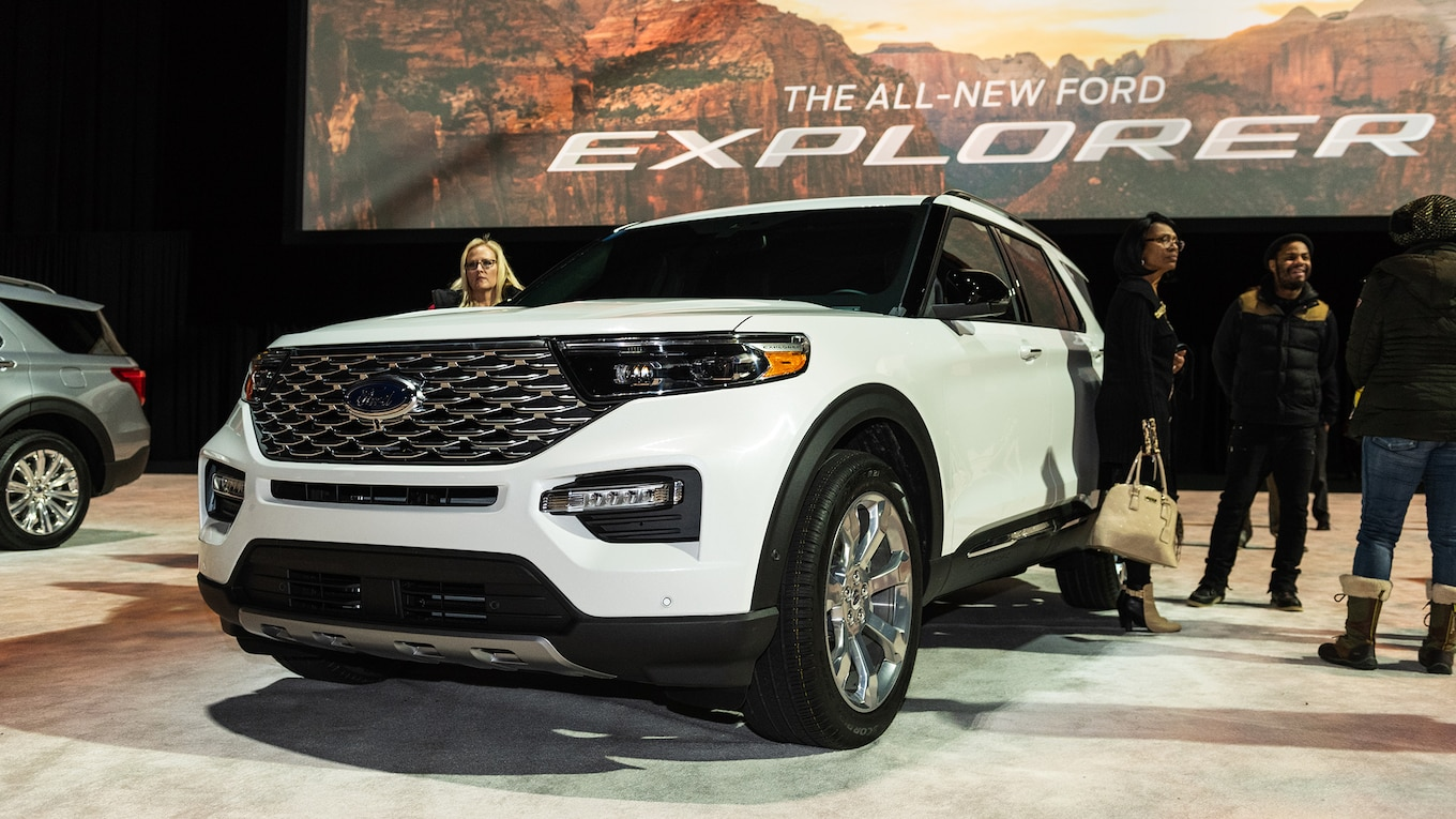 47 Best 2020 Ford Explorer Sports Wallpaper