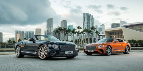 47 The 2020 Bentley Continental GT Engine