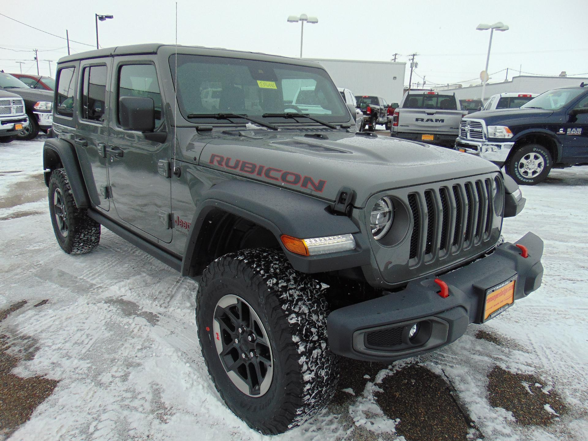 48 A 2019 Jeep Wrangler Rubicon Research New