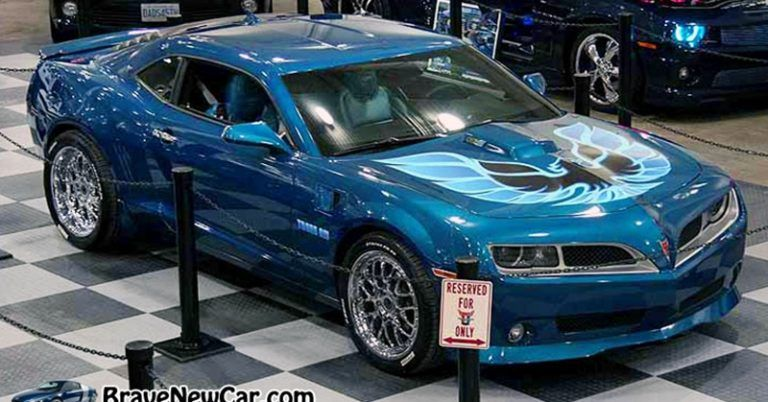 48 A 2019 Pontiac Firebird Trans Am Redesign and Concept