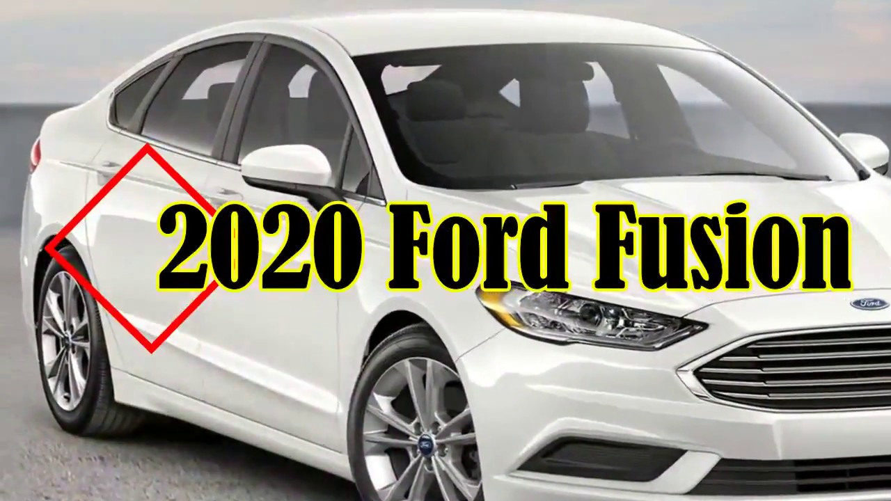 48 A 2020 Ford Fusion Price Design and Review