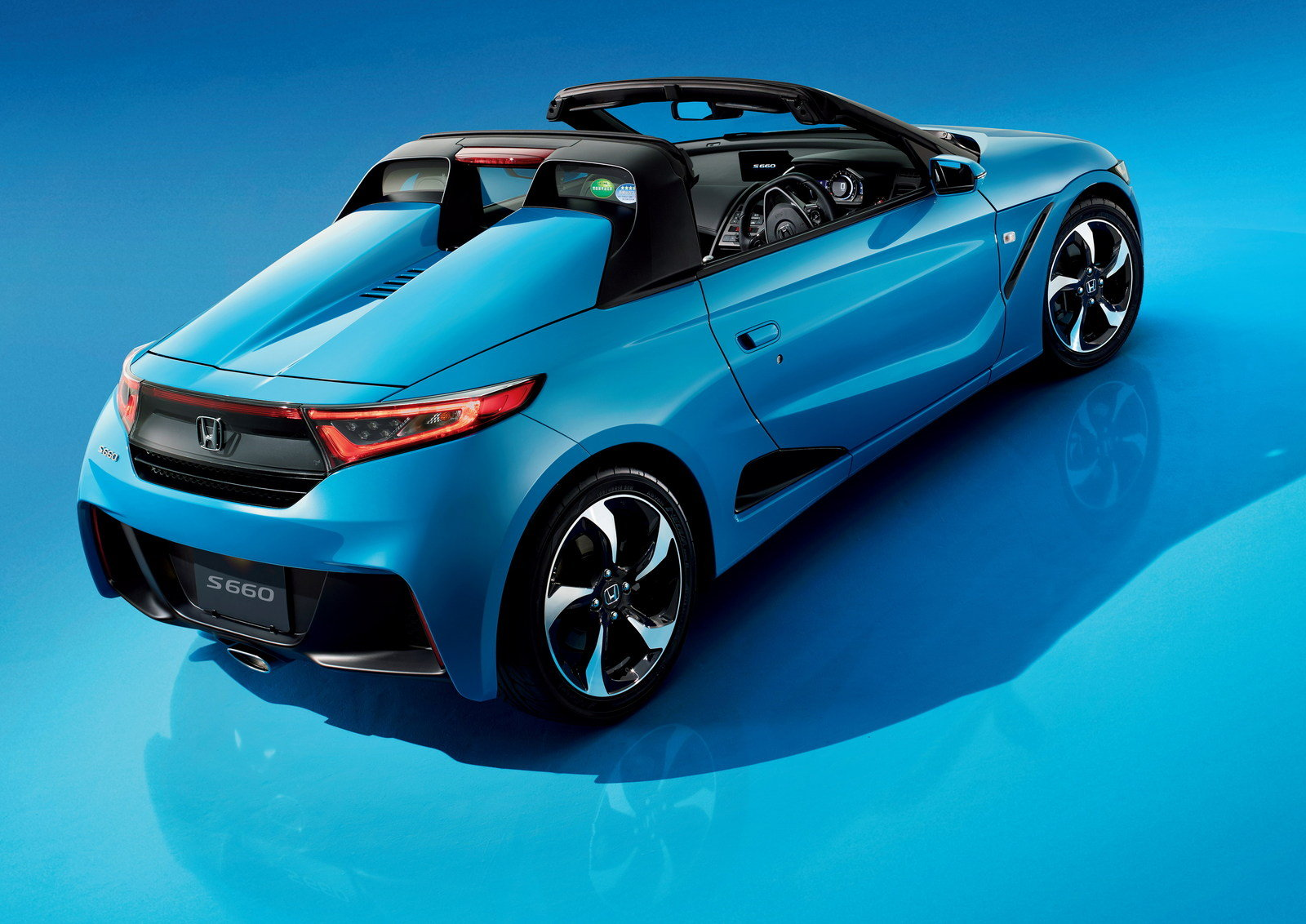 48 A 2020 Honda S660 Spy Shoot