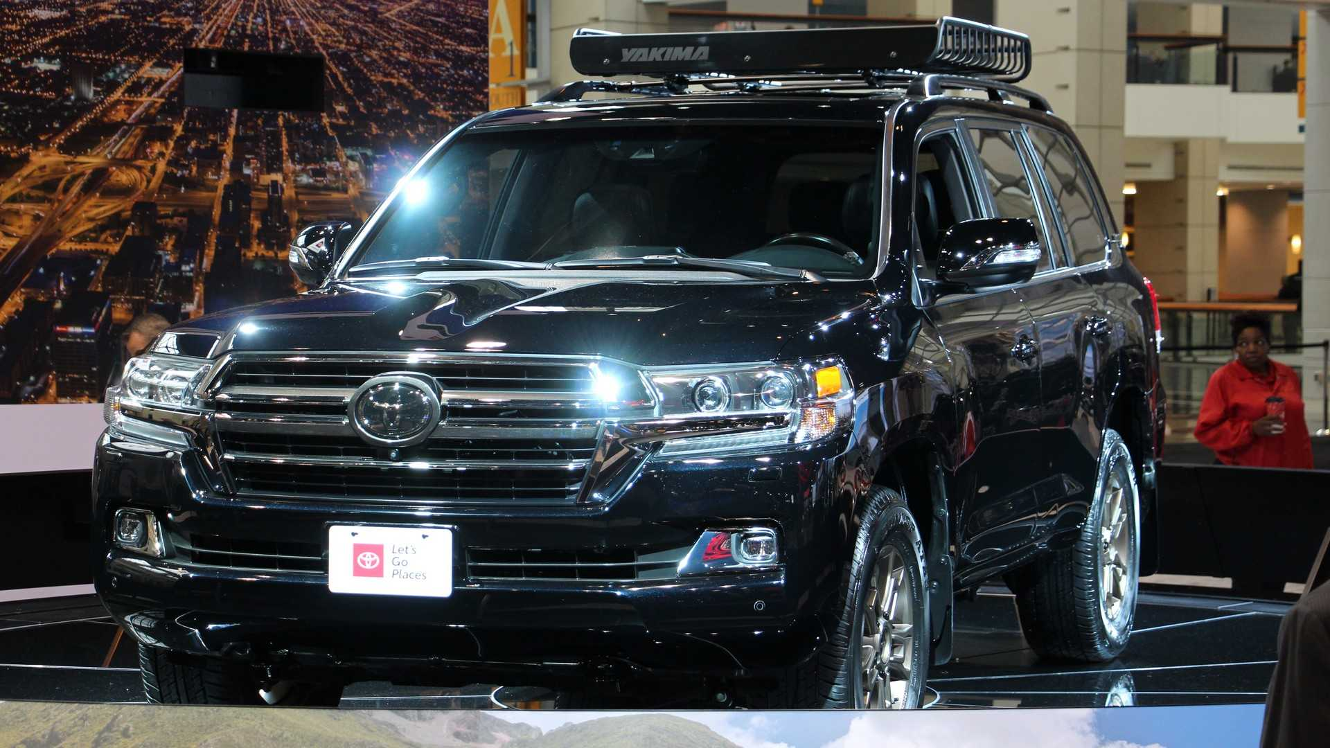48 A 2020 Toyota Land Cruiser Diesel Performance and New Engine