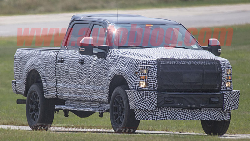 48 All New Spy Shots Ford F350 Diesel Concept