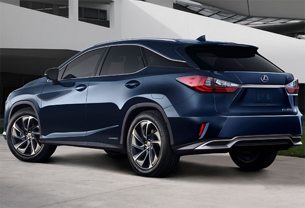 49 All New 2020 Lexus RX 450h First Drive