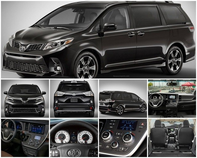 50 A 2020 Toyota Sienna Pictures