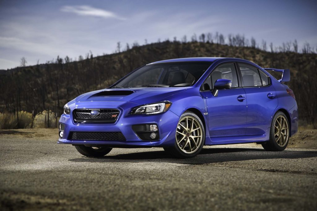 50 A 2020 Wrx Sti Hyperblue Speed Test