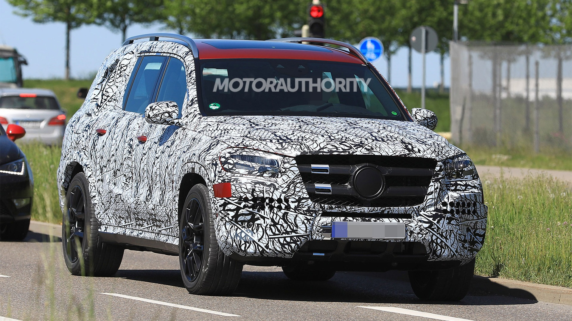 50 Best 2020 Mercedes Gl Class Spy Shoot