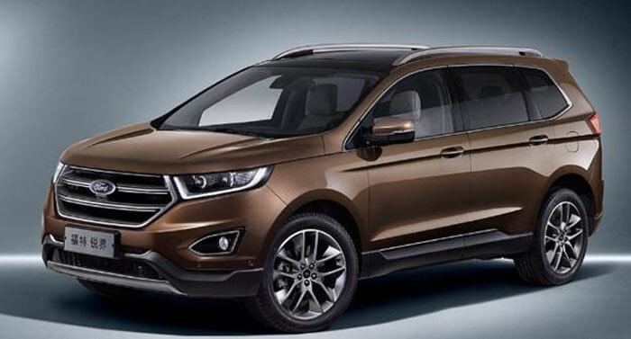50 The 2020 Ford Edge New Design Photos