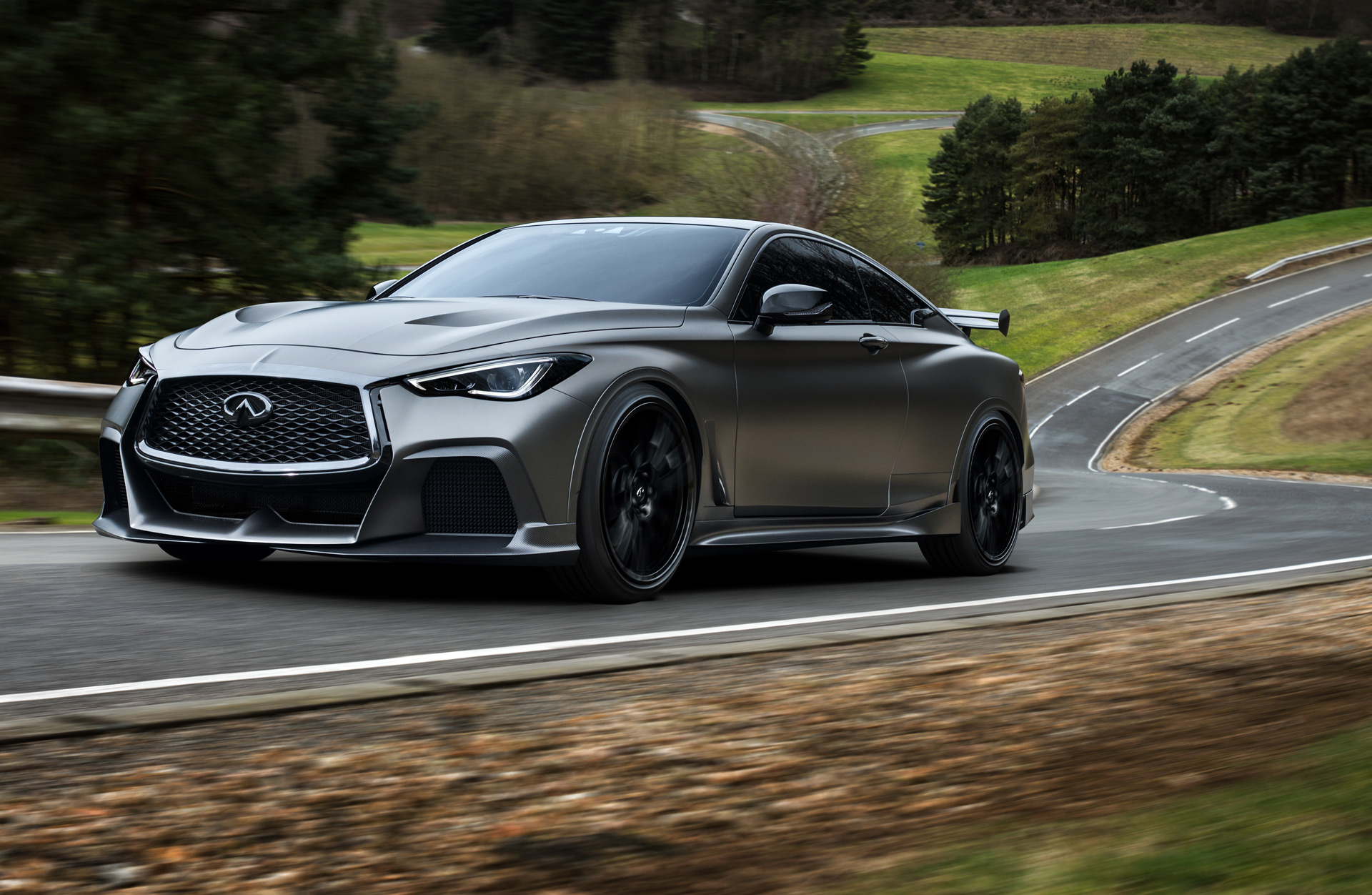 50 The 2020 Infiniti Q50 Coupe Eau Rouge Exterior